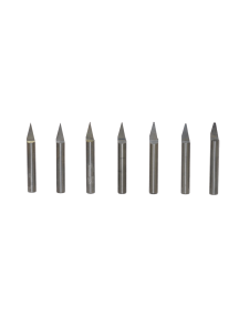 Single Flute - Solid Carbide Engraving Tools (Metric)